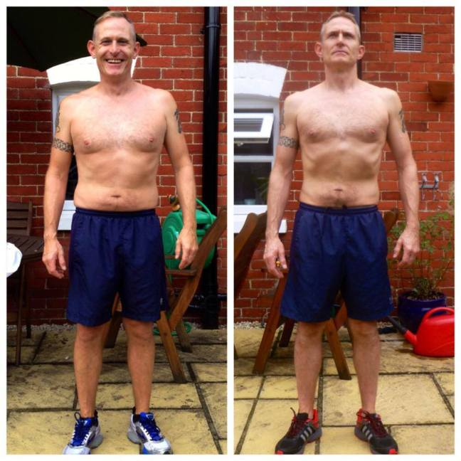Personal training, John Ruffell Fitness, Whithcurch, Hampshire